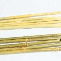 花棒-原竹含節帶青皮染透明色